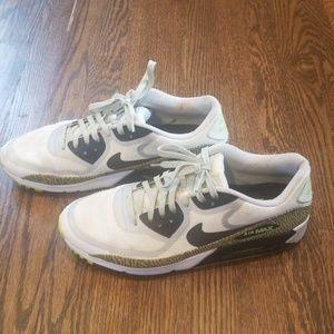 Nike Men's Air Max 90 CMFT PRM Tape Athletic Shoes Size 12
